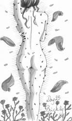 Inktober 2018 - Day 25 : Prickly by YERDUA