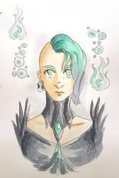 Guardian of Eldarya: Katelyna by YERDUA