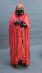 Figure with crow-raven front by InKi-Stock