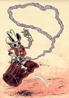 Intestine Cowboy by RalphNiese