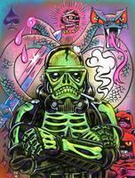 SKeleton Blackhole Trooper by RalphNiese