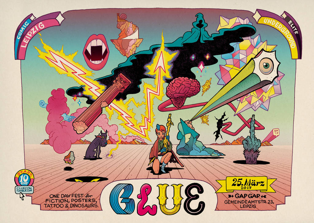CLUEposter by RalphNiese