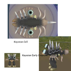 Kayosian References - Cell+ by Phoenix-of-Chaos