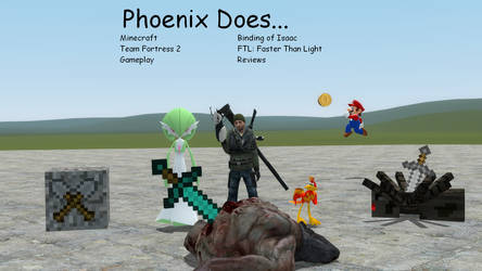 Youtube Splash Page... Hopefully by Phoenix-of-Chaos