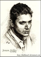 Jensen Ackles comission by diablana81
