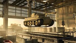 Henschel Tiger Tank Factory by Wu-Gene