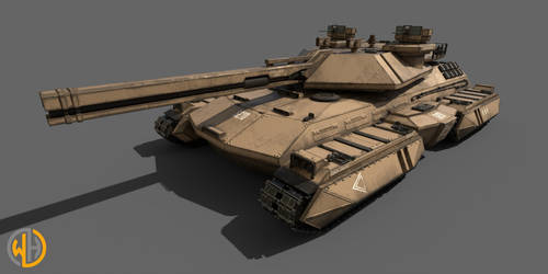 M1A4  Battle  Tank by Wu-Gene
