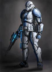 UNSC Stormtrooper by Wu-Gene