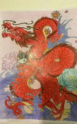 Chinese dragon  by aoiastraea9788