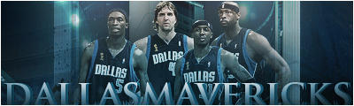 Dallas Mavericks by N4S-GFX