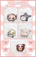 New Kawaii Necklaces - NOW IN STORE!!! by TomodachiIsland