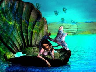 mermaid dreams by mrsmodernmonalisa