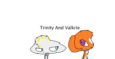 Trinity And Valkrie by Unikittyisback5869