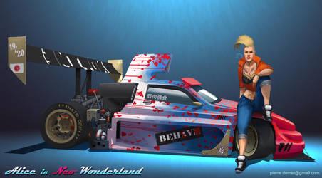Alice in Neo Wonderland by Ka---Z