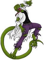 The Lizard by AkumaKokuei