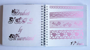 Brushset JL02, Lace by Missverstand
