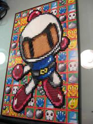 Bomberman Perler Bead Project by Dlugo1975