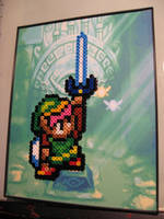 Link Perler Bead Project by Dlugo1975