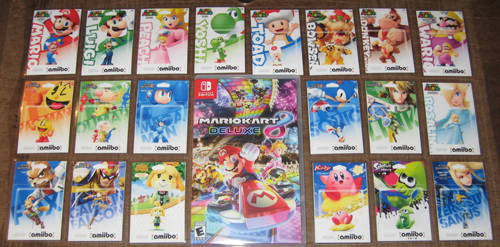 Mario Kart 8 Amiibo Set by Dlugo1975