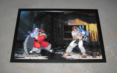 Perler Street Fighter Alpha by Dlugo1975