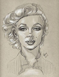 Marilyn Monroe by TheTruthLiesWithin