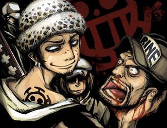 One Piece: Surgeon of Death by sweetlittlekitty