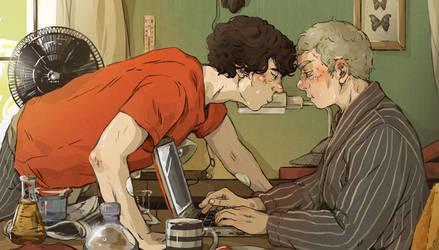 Sherlock: A hot summer afternoon by sweetlittlekitty