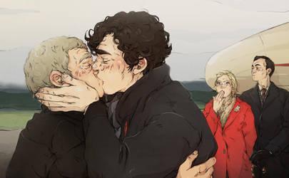 Sherlock: A proper goodbye by sweetlittlekitty