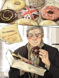Sherlock: Sweet Treat by sweetlittlekitty