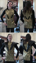 Riff-Raff Spacesuit Costume Progress Part 2 by spektijim