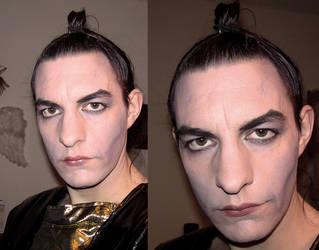 Riff-Raff Spacesuit Costume Part 5 - Makeup Test by spektijim