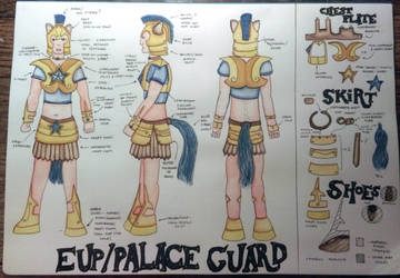 My Little Pony Palace Guard Cosplay-Detailed Plan by spektijim