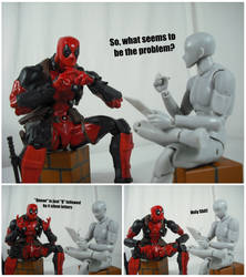 Deadpool's Therapy (Queue) by KrisAnderson97