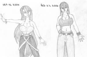 Katrina's Evolution by djsiren