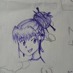 .:Sketch:. by thecrazysweetgirl