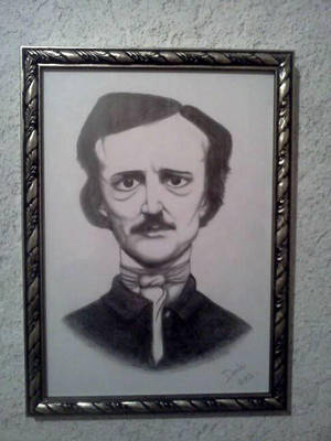 Edgar Allan Poe by sarcophagus6