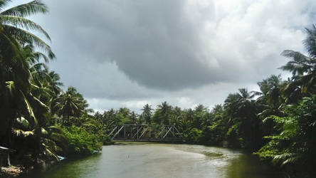 Bridge in Hikkaduwa, Sri Lanka by sarcophagus6