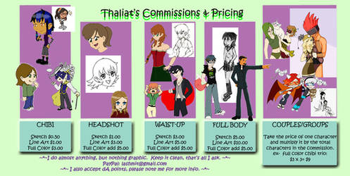 Commission Information by thaliat