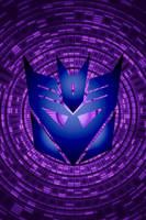 Swirling Decepticon Background by KalEl7