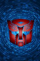 Swirling Autobot Background by KalEl7