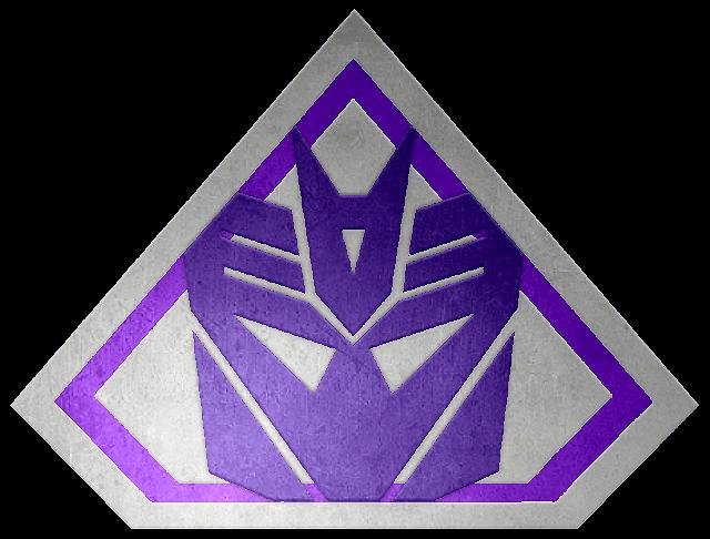 Brushed metal Ultra Decepticon Shield by KalEl7