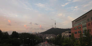 Namsan (Seoul) by jaredway