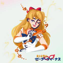 Sailor Venus by Sarafinah