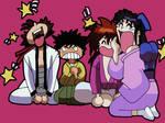 Kenshin n Gang by Ihtaver