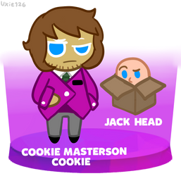 Cookie Masterson but he's a Cookie by Uxie126