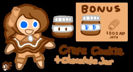Crepe Cookie by Uxie126