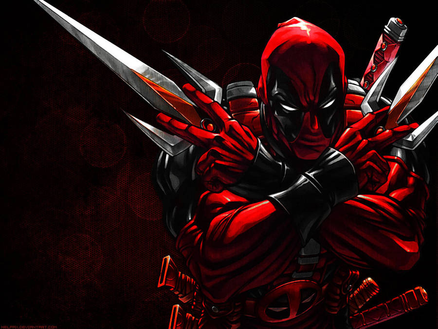 Deadpool Wallpaper By Helpax On Deviantart
