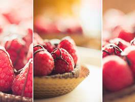 70 Tartelette Framboises by RoselineLphoto