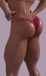 Fitness Gal - Rear After by Fempowerment2020