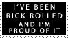 Rick Roll Stamp by The-Scary-Sister
